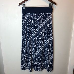 Size 16 Justice Maxi skirt